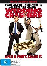 WEDDING CRASHERS - BRAND NEW/SEALED UNCORKED EXTENDED EDITION DVD (OWEN WILSON)