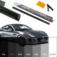 PRO DRAK SMOKE CAR WINDOW TINT ROLL 2X 3M x 76CM FILM TINTING 15% UK STOCK