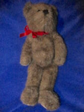 OOP NWT Older BOYDs BEAR 85-94  'J B BEAN SERIES' Red BOW hangtag NO NAME beany