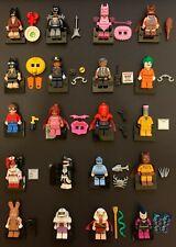 The LEGO Batman Movie Series Complete Set of 20 Minifigures (71017/2017)