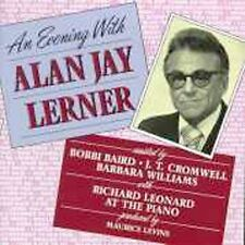 An Evening with Alan Jay Lerner by Alan Jay Lerner (CD, Jan-1991, DRG (USA))