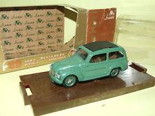 FIAT 500 C Belvedere Verte BRUMM R29 1/43