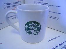 Starbucks White & Green Mermaid Logo 15.2oz Coffee Mug