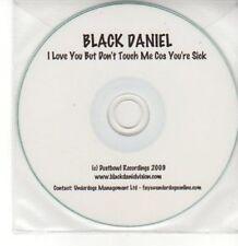 (AY79) Black Daniel, I Love You But Don't Touch - DJ CD