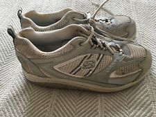 Sketchers Shape Ups White and Silver US Size 10