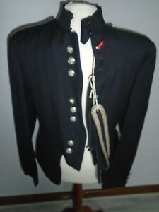 """SCOTS GUARDS VINTAGE PIPE MAJOR TUNIC ORIGINAL SAMPLE CHEST 38"""" BRITISH ARMY"""