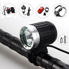 6000Lm 3X CREE XM-L T6 LED Headlamp Headlight Head Front Bicycle Lamp Bike Light