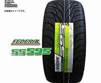 UHP 2 Federal SS595 275//40R17 98V Ultra High Performance Tires