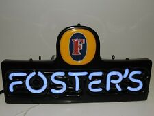 Foster'S Beer Neon Sign Mancave