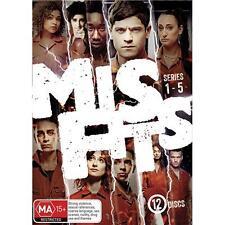 Misfits The complete Series Season 1, 2, 3, 4 & 5 DVD Box Set R4