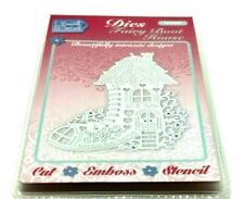 Fairy Boot House Cutting Die SDD491 -  by Sweet Dixie -  Crafting - See details