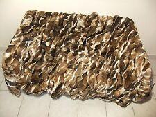 Natural Rex Rabbit Orillac Fur Throw 100% Real Rex Fur Bedspread / Blanket