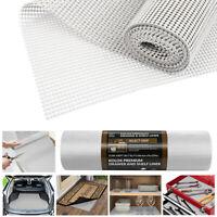US 17.5in*30ft Anti Slip Liner Non Skid Mat Rug Carpet Shelves Drawers Cabinets
