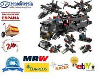 Lego Ed Teile Blöcke Von Bau / Aufbau Bahnhof Von Polizei Swat Lkw Robot