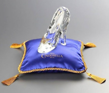 Disney Cinderella Glass shoes Slipper with Cushion for Gift object NEW FS