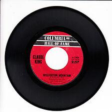 CLAUDE KING Wolvertom Mountain VG++ 45 RPM REISSUE