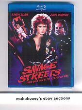 Savage Streets (Linda Blair) Code Red SOLD OUT Ltd Ed 1,000 OOP Blu-Ray SEALED!