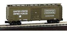 N Scale - 40' Ammunition Box Car, US Army, MDP-83715