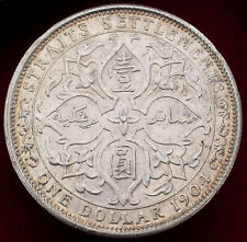 More details for straits settlements dollar 1904 (h2708)