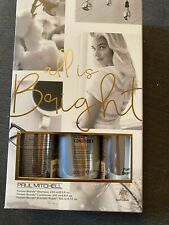 Paul Mitchell Blonde Full Size Gift Set Shampoo Conditioner And Repair Cream NEW