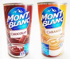 Pudding Dessert Creme Schokolade + Karamell je 570g Dose Angebot Mont Blanc