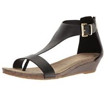 Kenneth Cole ReactionGreat Gal Wedge Sandals - Color Black - Size: 6.5