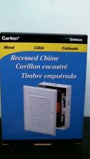 Carlon Dhrsch Wired Recessed Chime, Free Shipping