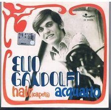 """ELIO GANDOLFI ACQUARIO / HAIR (CAPELLI)  7"""" 45 GIRI"""