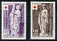STAMP / TIMBRE FRANCE NEUF N° 1910/1911 ** EGLISE DE BROU / ART SCULTURE