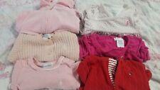 Ralph Lauren Baby Girl Clothes sweater jacket pj & romper 0-6m lot of 6