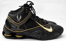 MENS 9 42.5 NIKE SHOX NZ 312744-013 SHOES FLIGHT ZOOM SYSTEMS 2005 LAKERS RARE