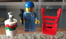 New Lego OCTAN WORKER  Split From Lego City Airport Set 60100