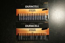 32 Duracell Coppertop Aaa Alkaline Batteries;(2x16) Packs Lot;Free Priority Ship