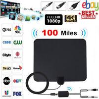 100 Miles Digtial TV Antenne Signal Verstärker DVB-T/DVB-T2 1080P HDTV Fernseher
