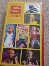 S Club 7 Carnival - VHS Video Tape - Tour Pop Rachel Jon Hannah Jo Paul Tina
