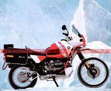 BMW R100/GS Paris Dakar ( R100 GS R 100 ) 1990 Fiche Moto 000112