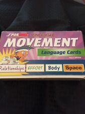 Sportime Kinetikidz Movement Language Cards Relationshipz Effort Body Space
