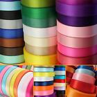 23 Metres DOUBLE SIDED SATIN RIBBON Reels - 10mm (6, 15 & 25mm also available)
