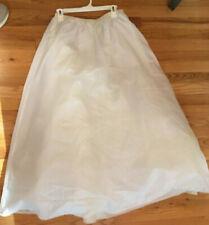 Size 10 Bridal Hoopless Petticoat Crinoline Underskirt Wedding Prom Formal Gown