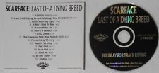 Scarface - Last Of a Dying Breed - original 2000 U.S. promo cd