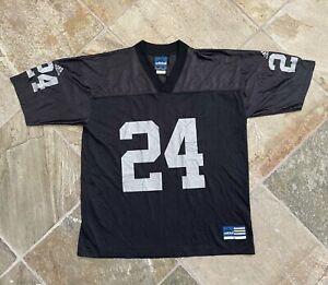 Vintage Oakland Raiders Charles Woodson Adidas Football Jersey, Size Large