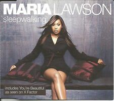 X Factor MARIA LAWSON Sleepwalking / You're Beautiful CD Single SEALED USA Seler