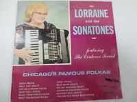 """LORRANINE AND THE SONATONES ~ CHICAGO'S FAMOUS POLKA'S ~12"""" SEALED LP RECORD"""