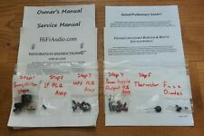McIntosh MR74 MR77 MR78 tuner restoration recap repair service rebuild kit
