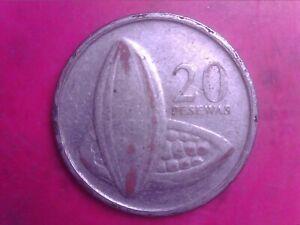 GHANA 20 PESEWAS 2007 JUN17F