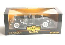 1935 Auburn 851 Boat Tail Speedster Ertl 1:18th scale die cast Model 1936 852 SC