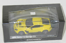 1/43 Aston Martin V12 Vantage GT3   Yellow  2012  Limited Edition 500 pieces