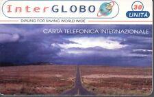 46- Scheda telefonica Phonecard Inter Globo 30 imità