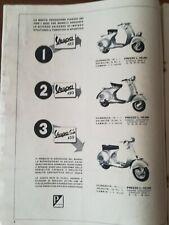 '50 VESPA PIAGGIO scooter  - pubblicità vintage advert - TT