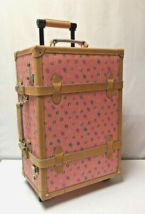 Dooney & Bourke Signature Bag Trunk Carry On Travel Suitcase Hard-Sided RARE